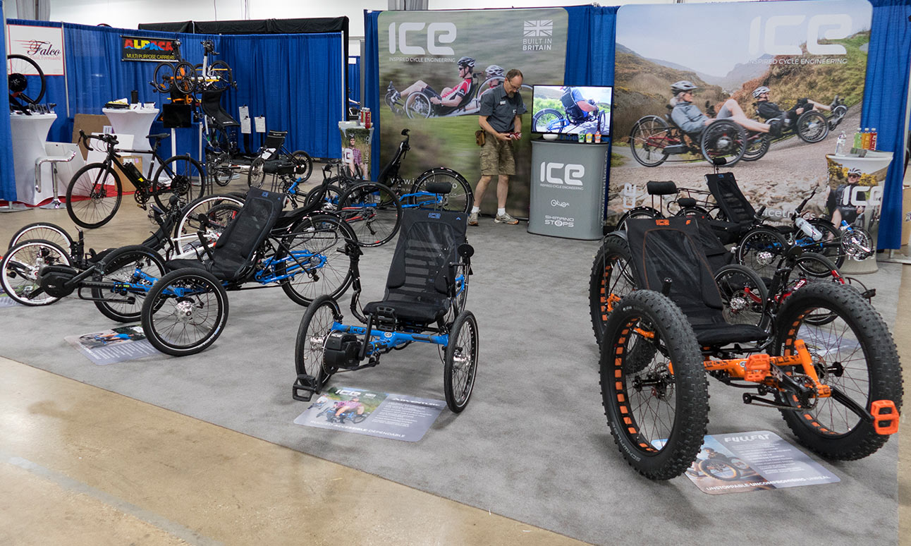 ICE Trikes RCC 2017 Booth