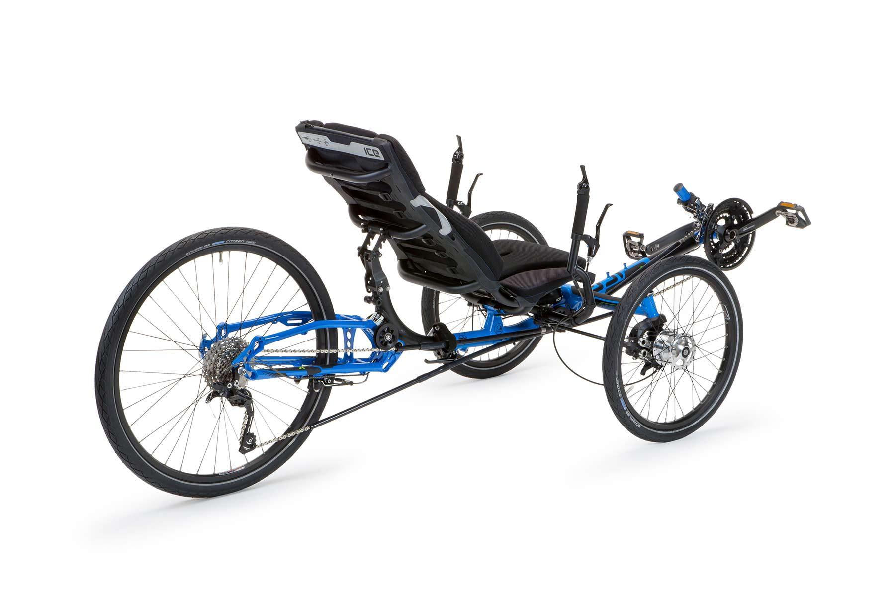 ICE Adventure - Relaxed Rugged Recumbent Trike, Bike