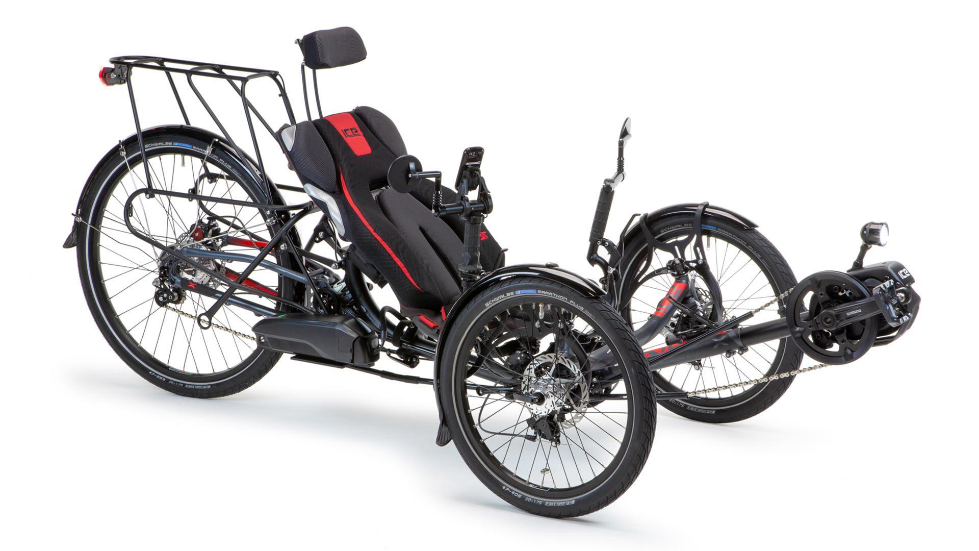 ICE Sprint Sporty Comfortable Recumbent Trike, Bike