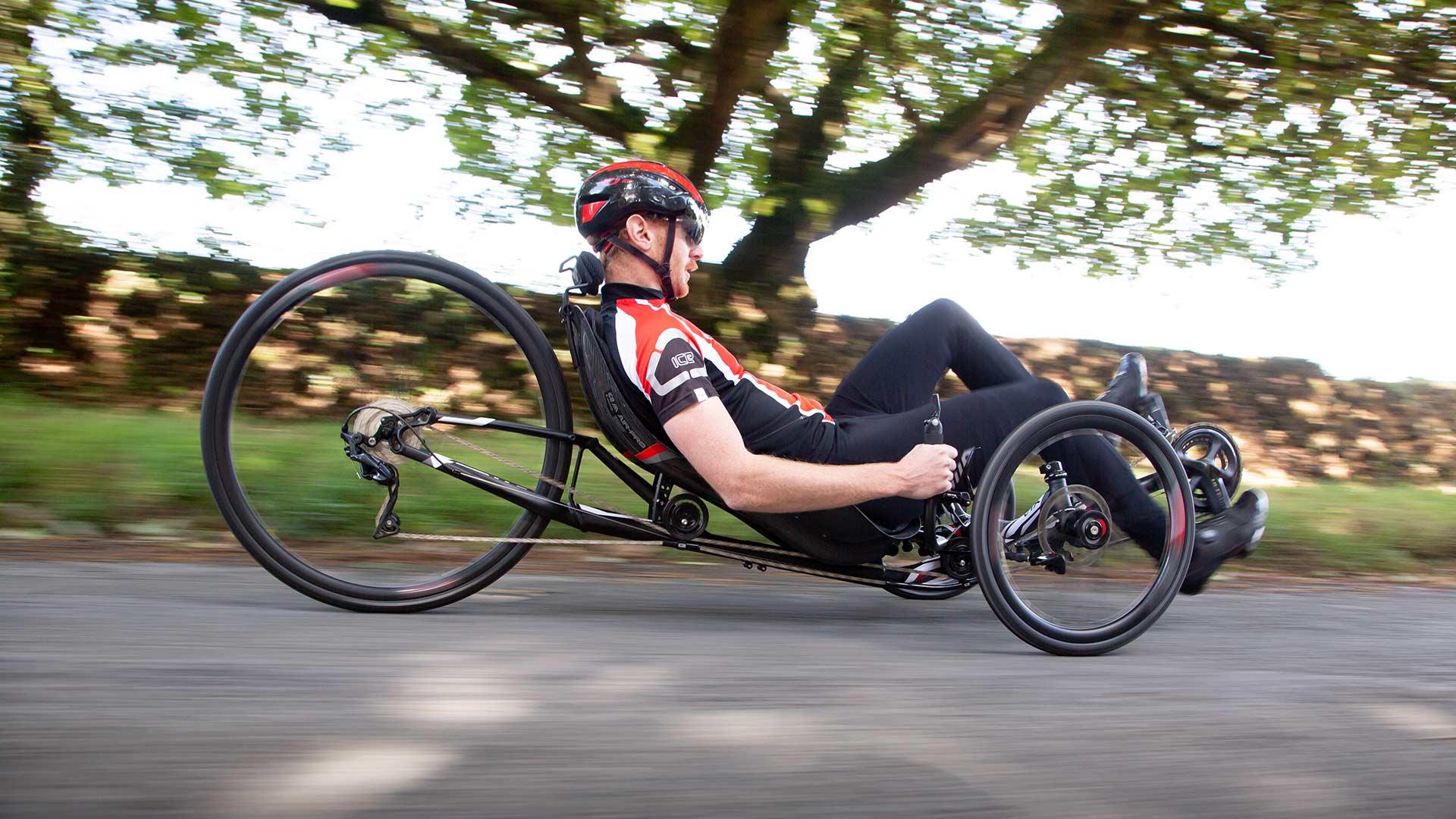 Ice Vtx Sporty Fast Recumbent Racing Trike Bike