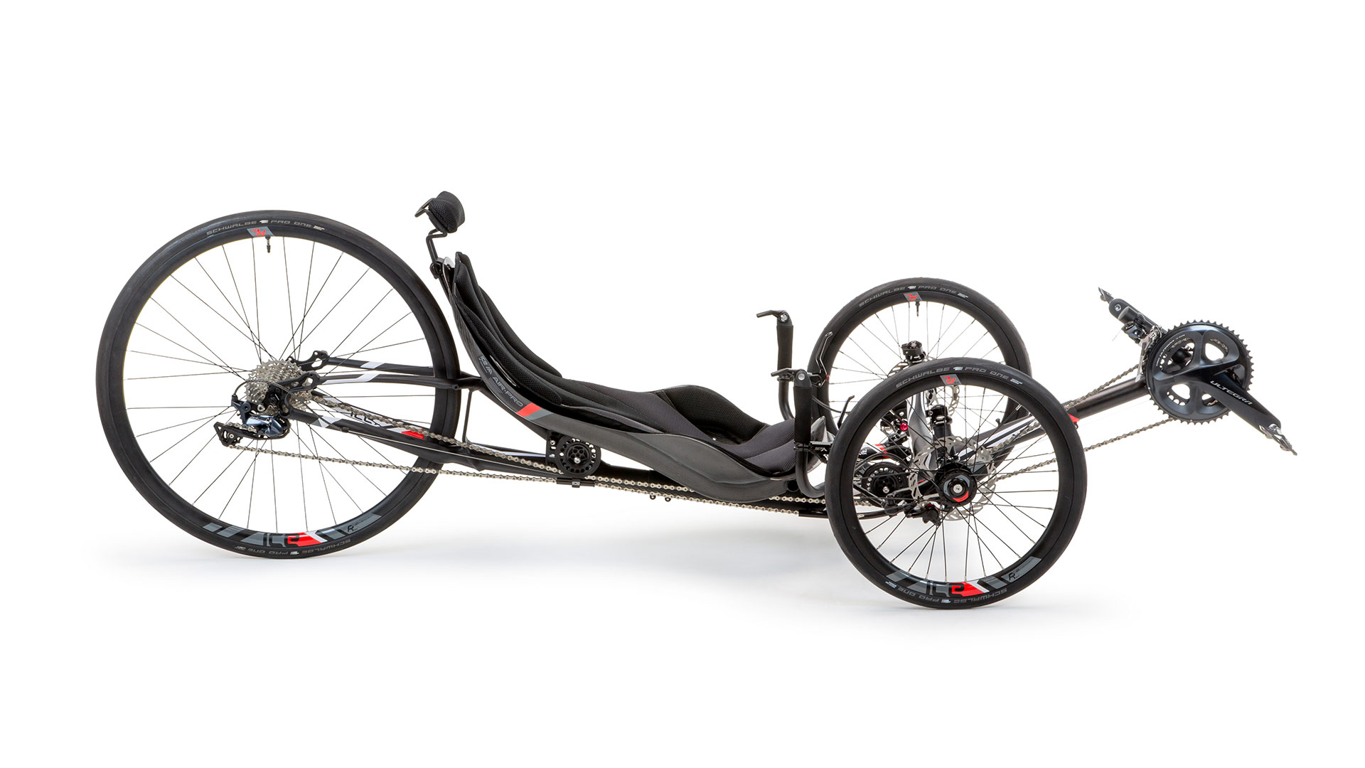 ICE VTX - Sporty Fast Recumbent Racing Trike, Bike