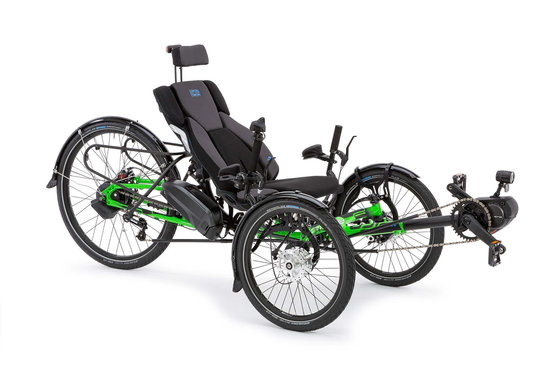 ICE Electric Trike - Shimano STEPs E6100 and E8000 Electric