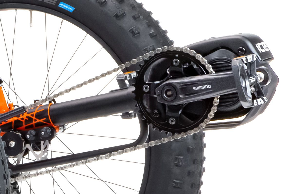 ICE E-assist Shimano Steps