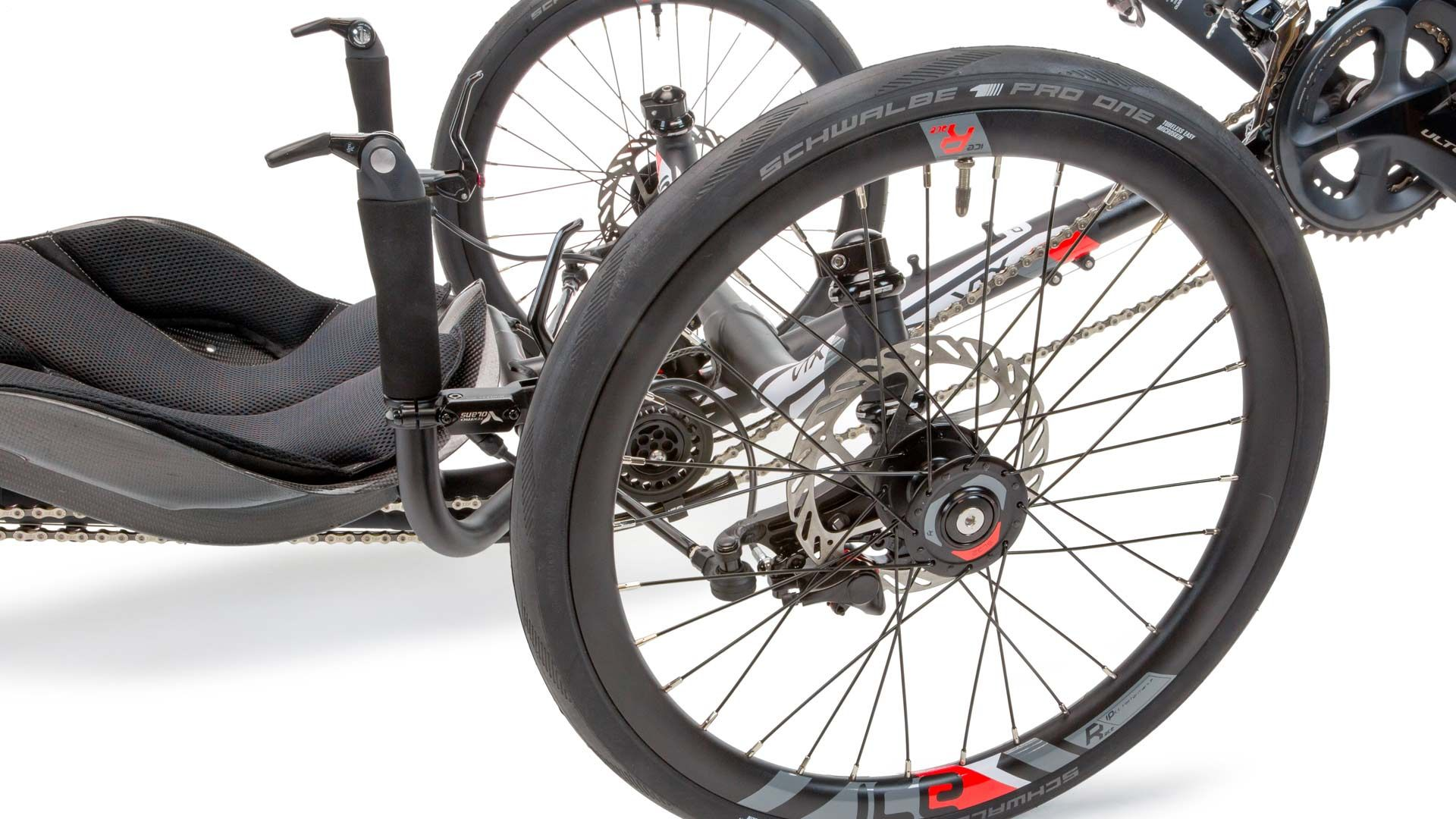 ICE Race Wheel Set with Disc Brakes